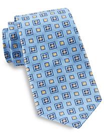 Gold Series® Diamond Medallion Silk Tie