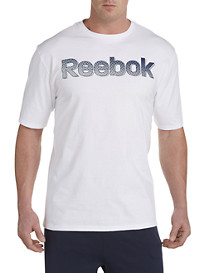 Reebok Halftone Wordmark Graphic Tee