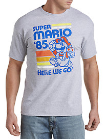 Super Mario Bros. Movin' and Groovin' Graphic Tee