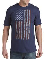 Americana Vertical Flag Graphic Tee