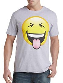 Funny Emoji Graphic Tee