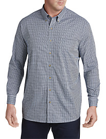 Harbor Bay® Easy-Care Multi Gingham Sport Shirt
