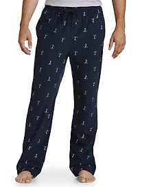 Nautica® Anchor-Print Fleece Pants