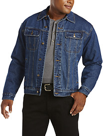 Wrangler® Flannel-Lined Denim Jacket