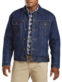 Wrangler® Sherpa-Lined Denim Jacket