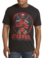 Deadpool Crossed Graphic Tee