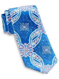 Geoffrey Beene All Along Paisley Silk Tie