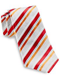 Geoffrey Beene® Not So Basic Stripe Silk Tie