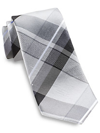Geoffrey Beene® Far and Wide Plaid Silk Tie