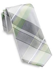 Geoffrey Beene® Far and Wide Plaid Silk Tie