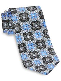 Geoffrey Beene® At All Hours Neat Silk Tie