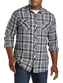 PX Clothing Plaid Flannel Sport Shirt