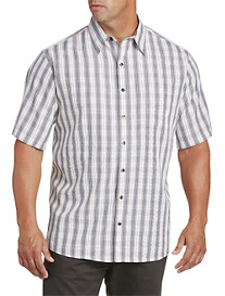Synrgy™ Multi Plaid Microfiber Sport Shirt