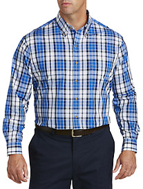 Harbor Bay® Medium Plaid Sport Shirt
