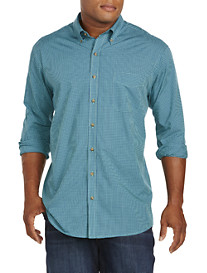 Harbor Bay® Small Check Sport Shirt