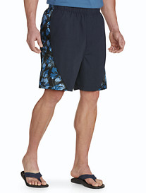 Harbor Bay® Floral Swim Trunks