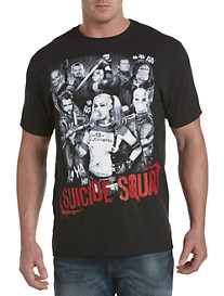 Suicide Squad Poster Graphic Tee