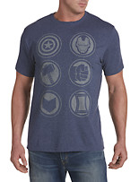Marvel® Comics Avengers Logos Graphic Tee