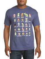 Nintendo Pixel Cast Graphic Tee