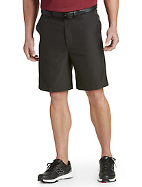 Oak Hill® Tonal Waist-Relaxer® Microfiber Shorts