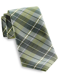 Synrgy™ Large Textured Plaid Tie