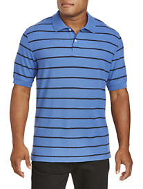 Harbor Bay® Single-Stripe Polo