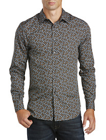 Perry Ellis® Stormy Floral Sport Shirt
