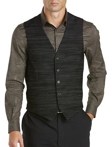 Perry Ellis® Textured Stripe Vest -  On Sale!