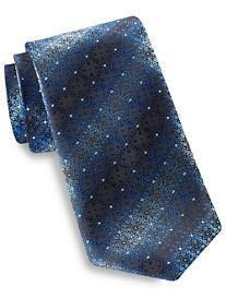 Synrgy Diamond Floral Ombré-Patterned Tie