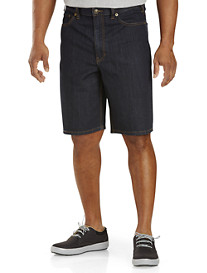 True Nation® 5-Pocket Dark Rinse Denim Shorts