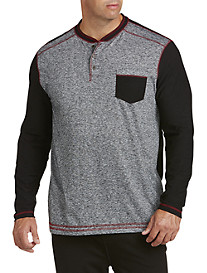 PX Clothing Colorblock Henley