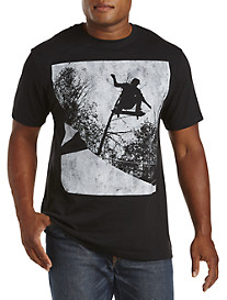 Skateboard Photo Reel Graphic Tee