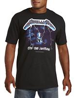 Metallica Ride Lightning Graphic Tee