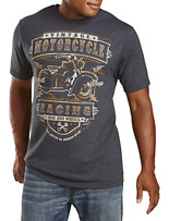American Vintage Racing Graphic Tee