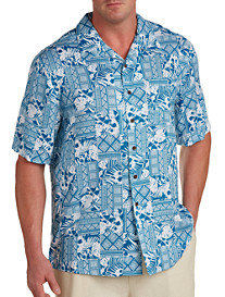 Island Passport® Batik-Print Camp Shirt