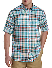 Oak Hill® Multi Plaid Sport Shirt