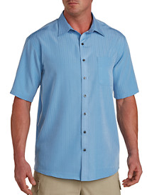 Harbor Bay® Textured Solid Microfiber Sport Shirt