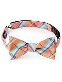 Spring Plaid Bow Tie