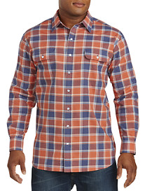 True Nation® Large Plaid Sport Shirt