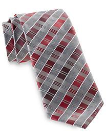 Geoffrey Beene Stripe Wonders Silk Tie