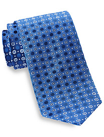 Geoffrey Beene® Open Grand Circles Silk Tie