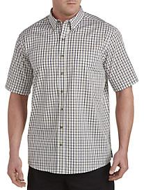 Harbor Bay® Easy-Care Medium Check Sport Shirt