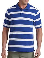 Harbor Bay® Large Rubgy Stripe Polo