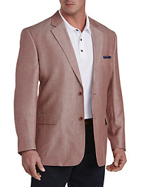 Oak Hill® Jacket-Relaxer™ Linen-Blend Nautical Sport Coat