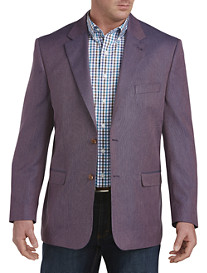 Oak Hill® Solid Jacket-Relaxer™ Sport Coat