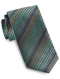 Synrgy Tonal Double Stripe Tie