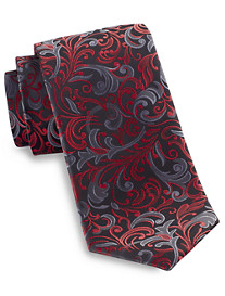 Synrgy™ Large Swirly Floral Tie