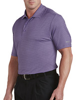 Reebok Heathered Speedwick Stripe Polo