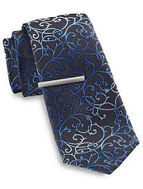 Gold Series® Paisley Tie with Tie Bar