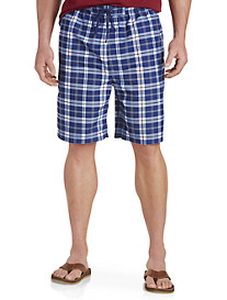 True Nation Plaid Swim Trunks